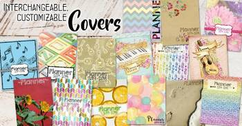 #PlanMyWholeLife Music Teacher Planner Bundle: Rotational COLOR