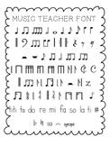 Music Teacher Font