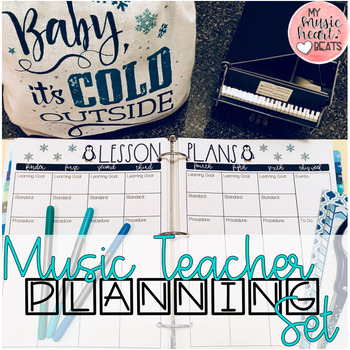 Music Teacher Planning Set - Growing Bundle