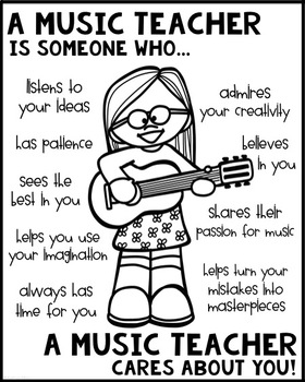 Music Teacher Poster [Someone Who]
