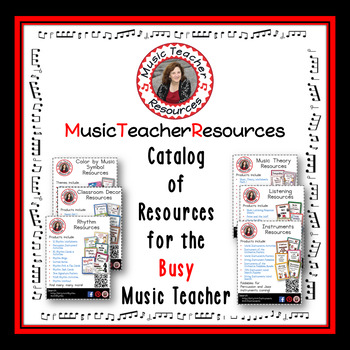 Music Teacher Resources Catalog