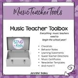 Music Teacher Toolkit