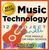 *Music Technology Curriculum Bundle: 12 Project Ideas