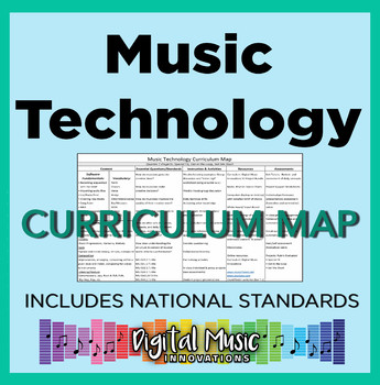 Music Technology Curriculum Map