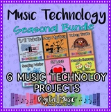 Music Technology Curriculum: Seasonal Lessons for Middle or High School