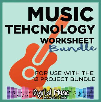 Music Technology Worksheet Bundle