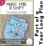Music Tells a Story Lesson Plan and Activites