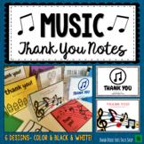 Music Thank You Notes for End of Year