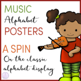 Music Themed Alphabet