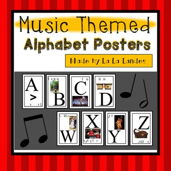 Music Alphabet Posters
