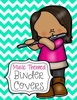 Music Themed Binder Covers {Editable}