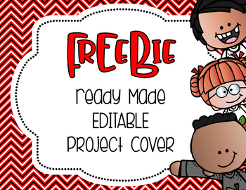 Editable Covers {FREEBIE}