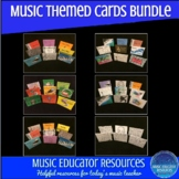 Music Themed Card BUNDLE