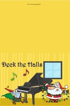 Music Themed Christmas Cards