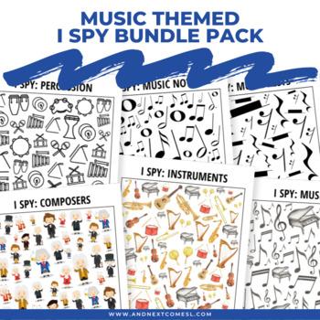 Music Themed I Spy Games Pack