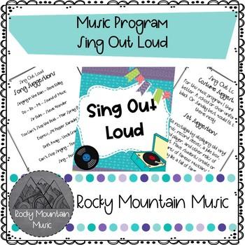 Music Themed Music Program