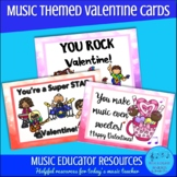 Music Themed Valentine Cards