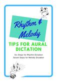 Ear Training - AURAL skills - Melody & Rhythm Dictation Tips