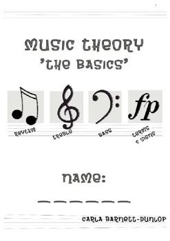 Music Theory Book 'Basics'