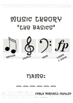 Music Theory Book 'Basics'
