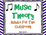 Music Theory Bundle For The Classroom