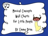 Music Theory Concept Charts for Little People