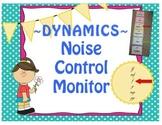 Music Theory, Dynamics Sound Noise Monitor