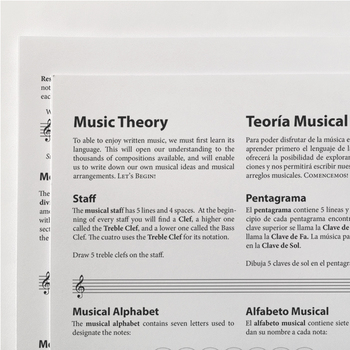 Music Theory: English and Spanish Basic Music Theory Refer