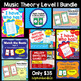 Music Theory Games Level 1 Bundle