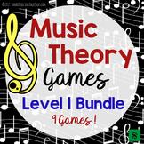 Music Theory Games Level 1 Bundle