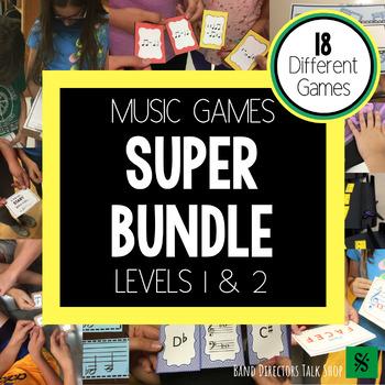 Music Theory Games SUPER BUNDLE