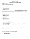 Music Theory Grade 1 Mock Exam (Trinity College Syllabus)
