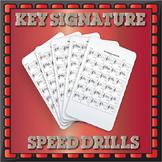Key Signatures Drills - Treble Clef
