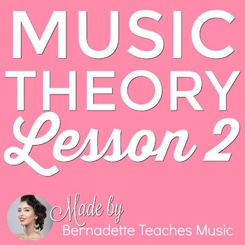 Music Theory Lesson 2 - Reading Counting & Clapping Rhythms - No Prep Printable!