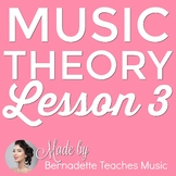 Music Theory Lesson 3 Reading Treble Clef & Bass Clef Note