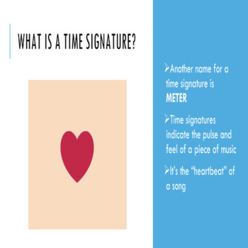 Music Theory Lesson 6 - Time Signatures and Note Values Powerpoint