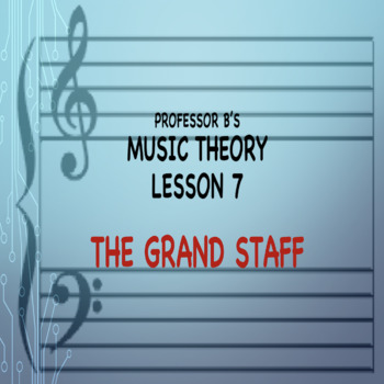 Music Theory Lesson 7 - The Grand Staff