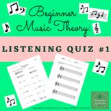 Music Theory - Listening Quiz 1