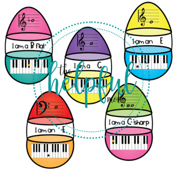 Music Theory - Matching Easter eggs