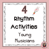 Music Activities: Music RHYTHM Worksheets