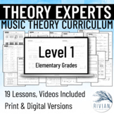 Theory Masters: A Theory Curriculum Level 1 Print & Digita