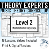 Theory Masters: A Theory Curriculum Level 2 Print & Digita