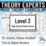 Music Theory Unit for MS/HS (From Basics to Circle of 5ths in 9 Lessons!)