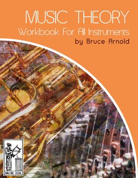 Music Theory Workbook All Instruments: Chords & Intervals