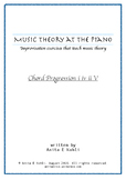 Music Theory at the Piano : Progression i iv ii V