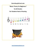 Music Theory for Beginners - Students Hard of Hearing