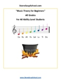 Music Theory for Beginners - Students with Speech and Language Disabilities