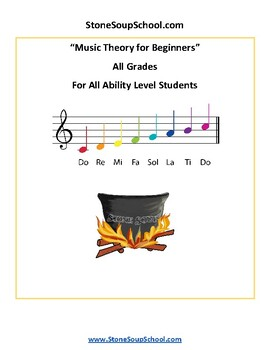 Music Theory for Beginners - Students with Traumatic Brain Injuries