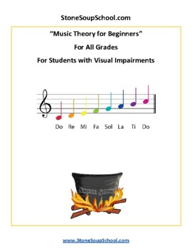 Music Theory for Beginners - Students with Visual Impairments