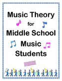 Music Theory for Middle School Music Students